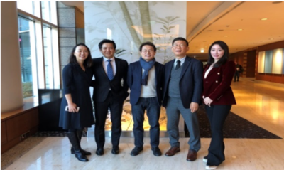 2018.12.8 Meeting with Chinese Education Minister Cho Hee-yeon in Seoul
