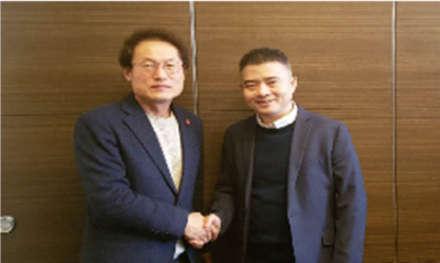 2019.4.3 Education Superintendent Cho Hee-yeon met with Wu Wenhao, co-founder of Megvii, China, in Seoul